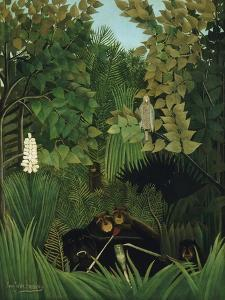The Merry Jesters, 1906 by Henri Rousseau