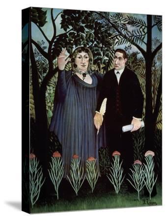 The Poet and His Muse. Portrait of Guillaume Apollinaire and Marie Laurencin, 1909