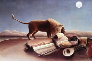 The Sleeping Gypsy, 1897 by Henri Rousseau