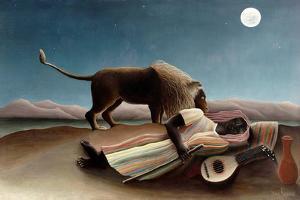 The Sleeping Gypsy, 1897 by Henri Rousseau