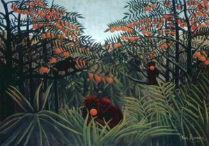 The Tropics, 1910 by Henri Rousseau