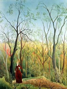 The Walk in the Forest, 1886-90 by Henri Rousseau