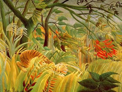 Tiger in a Tropical Storm (Surprised!) 1891
