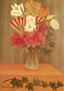 Vase of Flowers by Henri Rousseau