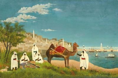 View of Algiers (Paysage D'Alger), 1880 by Henri Rousseau