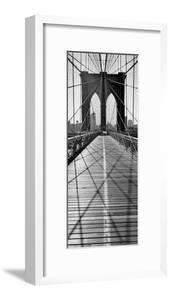 Across Brooklyn Bridge by Henri Silberman