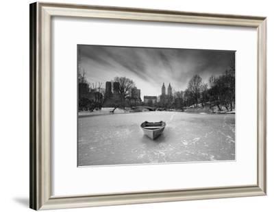 Boat in Ice, Central Park