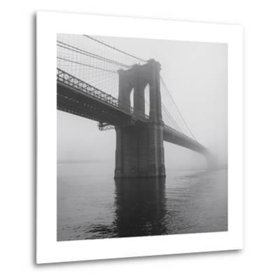 Brooklyn Bridge Tower in Fog