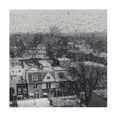 Brooklyn Rainy Window by Henri Silberman