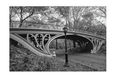 Central Park Gothic Bridge by Henri Silberman