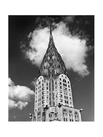 Chrysler Building Cloud by Henri Silberman