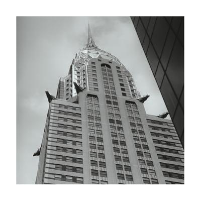 Chrysler Building Deco Birds by Henri Silberman