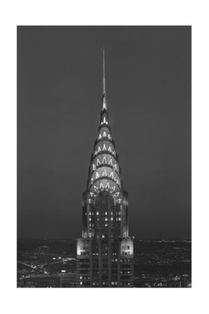 Chrysler Bulding, New York City 4 by Henri Silberman