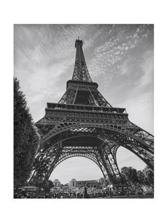 Eiffel Tower from Below - Paris, France by Henri Silberman