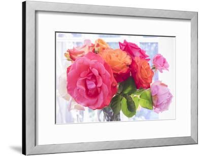 Garden Roses in Vase
