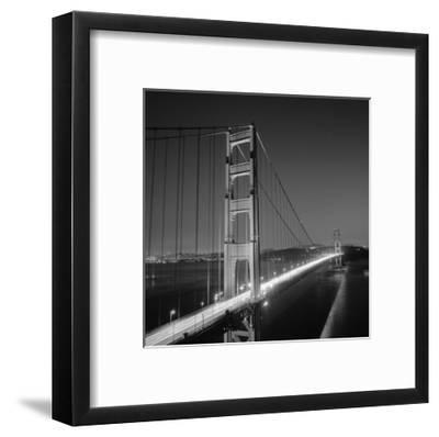 Golden Gate Bridge Evening San Francisco