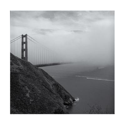 Golden Gate Bridge Marin Headlands Fog by Henri Silberman