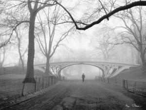 Gothic Bridge, Central Park, New York City by Henri Silberman