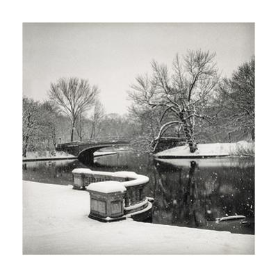 Lullwater Bridge Snow, Prospect Park - Prospect Park, Brooklyn New York