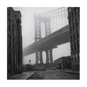 Manhattan bridge posters artwork for sale posters and prints at art manhattan bridge brooklyn view 2henri silberman malvernweather Gallery
