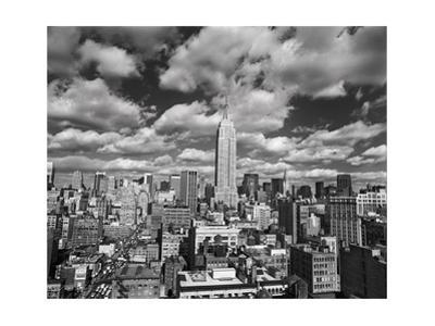 Manhattan Clouds - New York City, Top View, Empire State Building