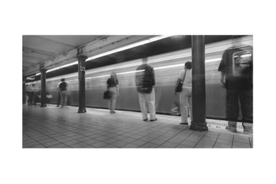 Manhattan Subway Station Panorama