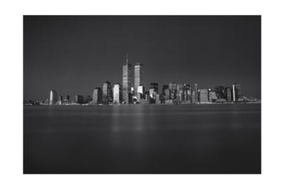 Manhattan, World Financial Center, Dusk - Lower Manhattan at Night by Henri Silberman