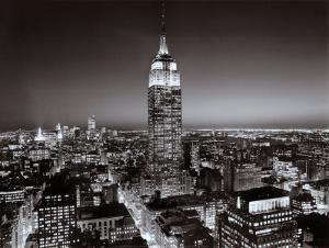 New York, New York, Empire State Building by Henri Silberman