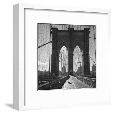 On the Brooklyn Bridge 2