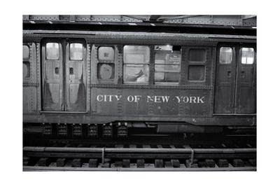 Subway Car Close-Up Nyc