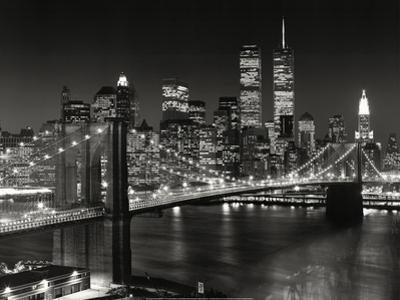 Top View Brooklyn Bridge - New York City Icons by Henri Silberman