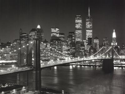 Top View Brooklyn Bridge by Henri Silberman