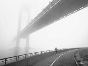 Verrazano Bridge by Henri Silberman