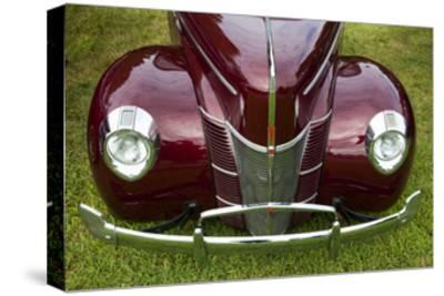 Vintage Car, Close-Up (Front Grille)