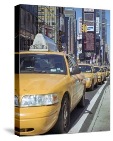 Yellow Cabs, Times Square, New York City 2