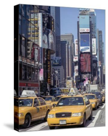 Yellow Cabs, Times Square, New York City 3