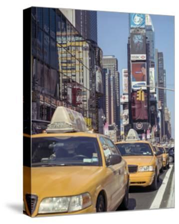 Yellow Cabs, Times Square, New York City