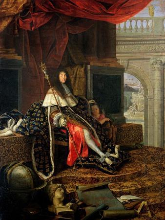 Portrait of Louis XIV (1638-1715) 1668
