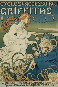 Cycles Et Accessoires Griffiths Poster by Henri Thiriet