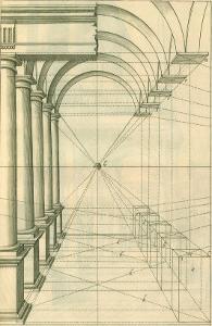 View of Roman Gallery, 1751 by Henricus Hondius