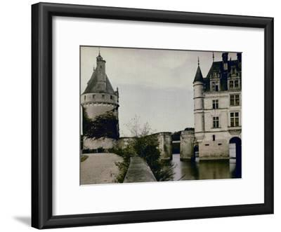 Detail of Chenonceau Castle