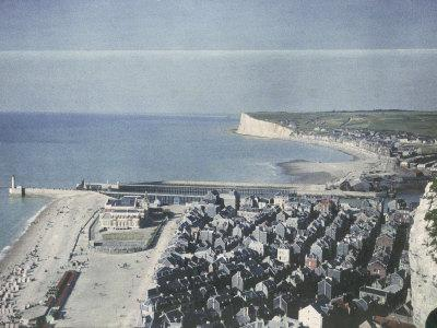 Panorama of Le Treport