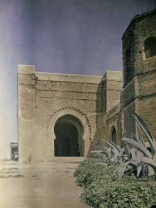 The Gate at the Walls of the Kasbah of Oudaia in Rabat, Marocco by Henrie Chouanard