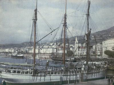 The Port of Bastia, Corsica