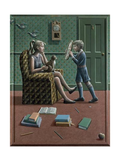 Henrietta and Nathan, 1986-P.J. Crook-Giclee Print