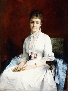Portrait of a Lady, 1877 by Henriette Browne