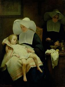 The Sisters of Mercy, 1859 by Henriette Browne