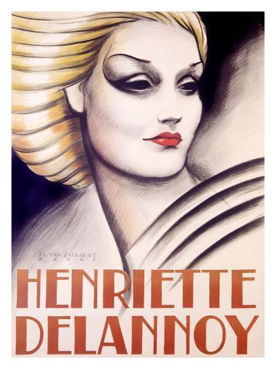 Henriette Delannoy--Giclee Print