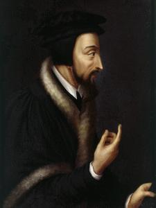 Jean Calvin, 1509-64 French Protestant Reformer by Henriette Rath