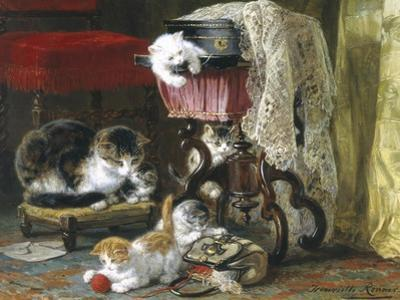 Mischief Makers by Henriette Ronner Knip